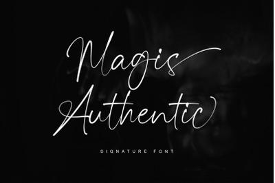 Magis Authentic - Signature Font