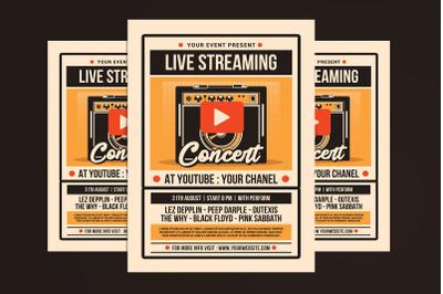 Live Streaming Concert
