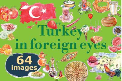Turkey in foreign eyes, bundle