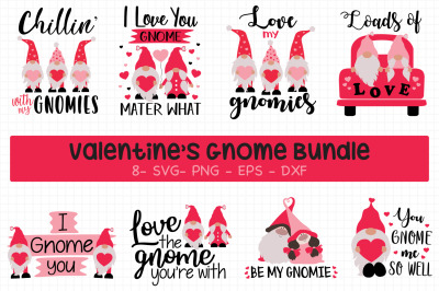 Valentine's Day Gnomes Bundle
