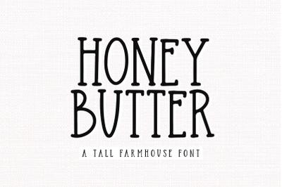 Honey Butter - Farmhouse Font