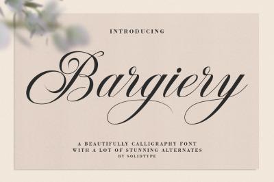 Bargiery Script