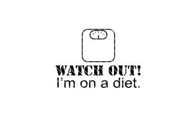 Watch out! - Diet SVG
