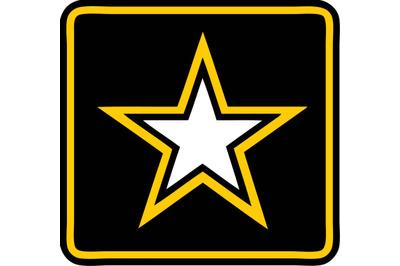 Army Star SVG