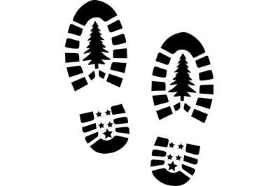 Santa Shoes SVG