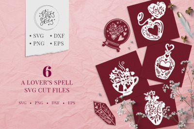 A Lovers Spell SVG Cut-Files