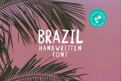 Brazil - Handwritten Font