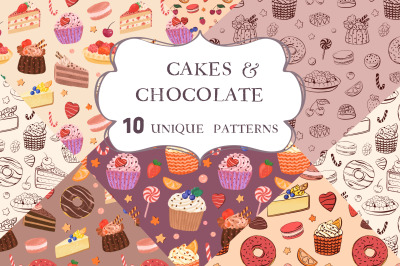 Cakes & Chocolate Patterns