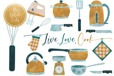 Kitchen Utensils & Cooking Clipart