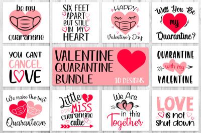 Valentine Quarantine Bundle Svg