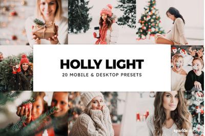 20  Holly Light LR Presets