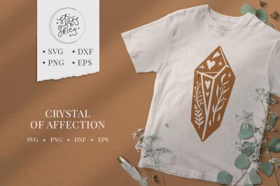 Crystal of Affection SVG Cut-File