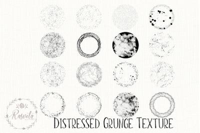 Grunge Round Textures