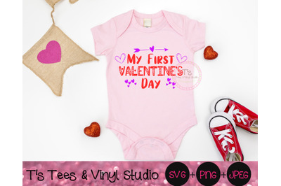 First Valentine's Day, My First, Valentine's Day, Baby Valentine, Happ