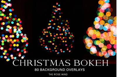 Overlays 80 Christmas bokeh