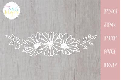 Daisy svg, Daisy border svg, Flower svg
