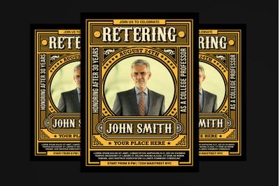 Retirement Invitation