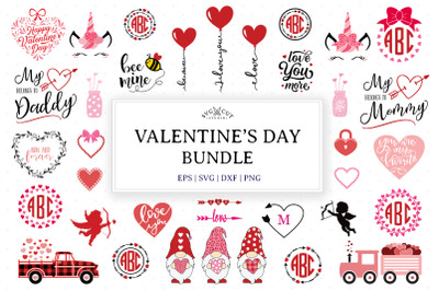 Valentines Day SVG Bundle
