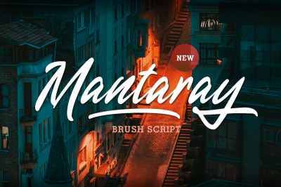 Mantaray - Brush Script