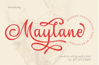 Maylane | Loving Font
