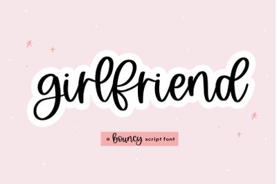 Girlfriend - Handwritten Script Font