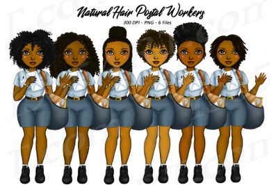 African American Postal Workers Clipart Black Woman Mail PNG
