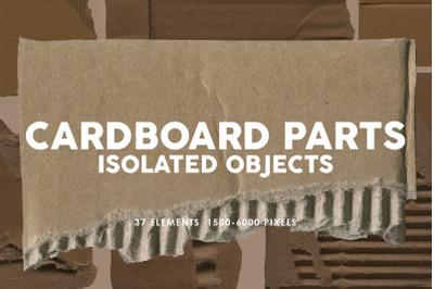 37 Damaged Cardboard Parts