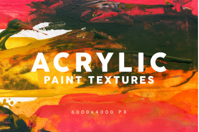 Acrylic Paint Textures 1