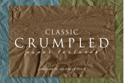 Classic Crumpled Paper Textures 2
