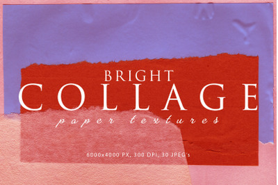 Bright Collage Paper Textures 1