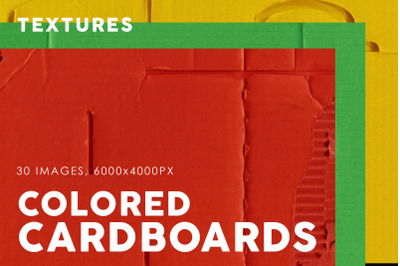 Colored Cardboard Paper Textures 1