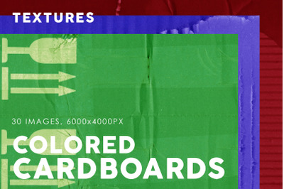 Colored Cardboard Paper Textures 3