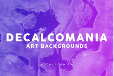 Decalcomania Artistic Textures 1