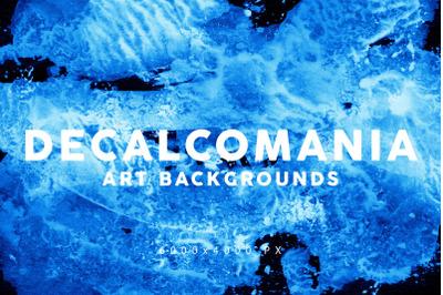 Decalcomania Artistic Textures 2