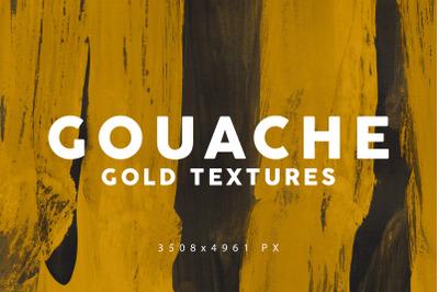 Gouache Gold Textures