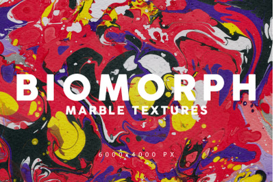 Biomorphic Marble Backgrounds 2