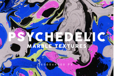 Psychedelic Marble Backgrounds