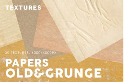 Old&Grunge Paper Textures 2