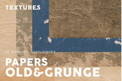 Old&Grunge Paper Textures 3