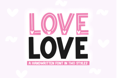Love Love - Valentine's Day Font