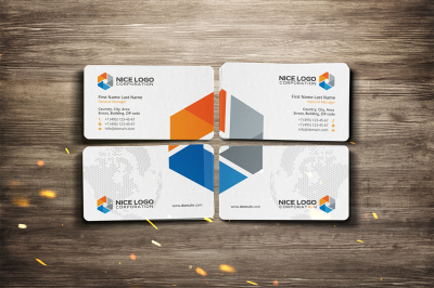 research business card