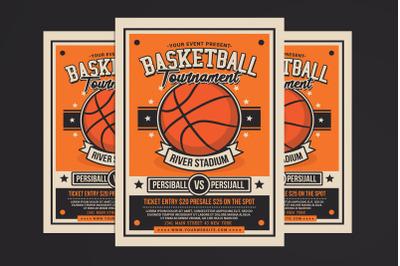 Basketball Tournament Flyer