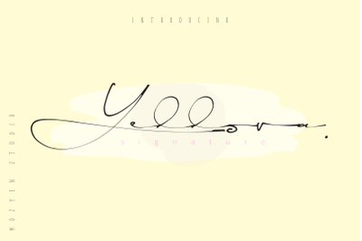 Yellova Signature