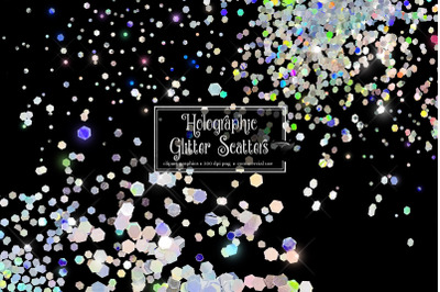 Holographic Glitter Scatters