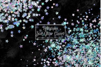 Holographic Star Glitter