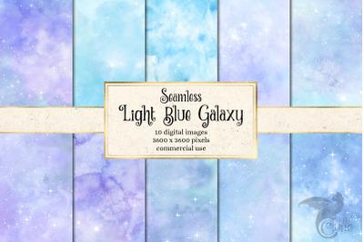 Light Blue Galaxy Textures