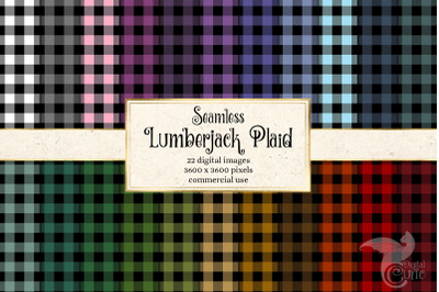 Lumberjack Plaid Digital Paper