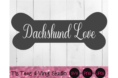 Dachshund Svg, Bone Svg, Dog Bone Svg, Dachshund Love Svg, Dog Svg, Kn