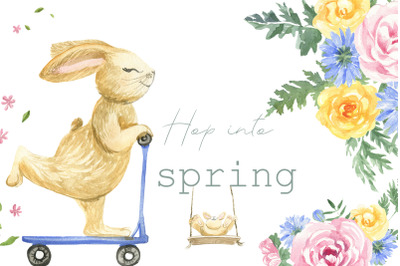Hop into the spring