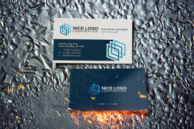 gallery business card